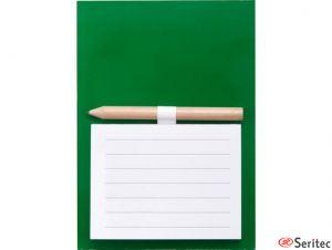 Imán con bloc de notas