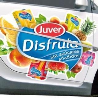 Adhesivos para rotulación vehículos, coches